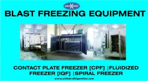Blast Freezing Equipment united refrigeration b