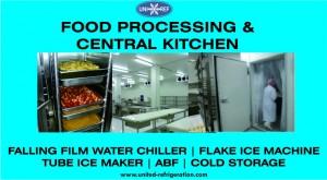 Food Processing & Central Kitchen United Refrigeration blue