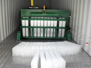 Containerized Block Ice Plant United Refrigeration